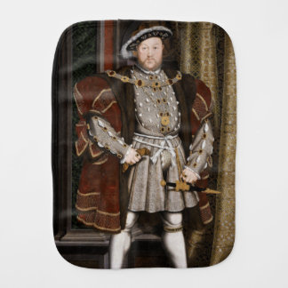 Paninho Para Bebês Retrato de Henry VIII