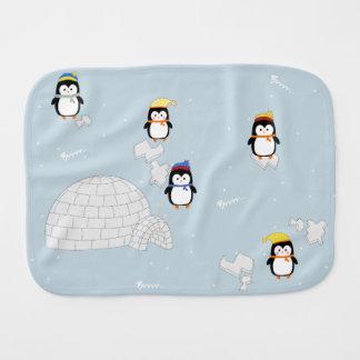 Paninho Para Bebês Spucktuch pinguim