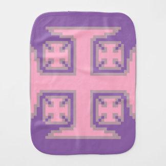 Pano cor-de-rosa do Burp do bebê de Kross™ Paninhos Para Bebês
