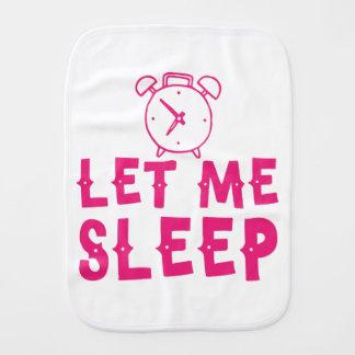 Pano De Boca deixe-me dormir rosa com despertador
