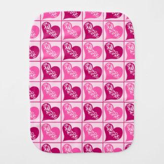 Pano De Boca Dia dos namorados cor-de-rosa dos corações