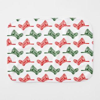 Pano De Boca Meias do Natal de Paisley