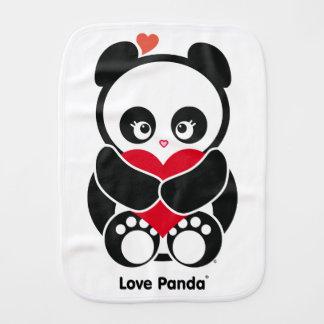 Pano do Burp de Panda® do amor Paninho De Boca