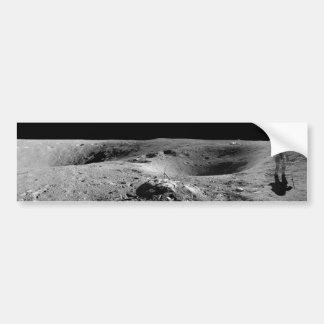 Panorama do astronauta de Apollo 16 na lua Adesivo Para Carro
