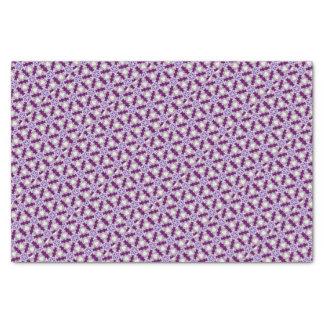 pansies papel de seda