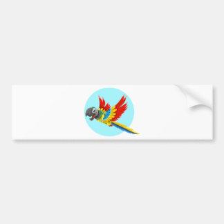 papagaio adesivo para carro