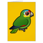 Papagaio Vermelho-lored de Birdorable Cartoes