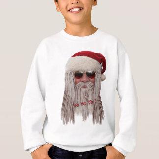 Papai Noel com máscaras & teme Camiseta