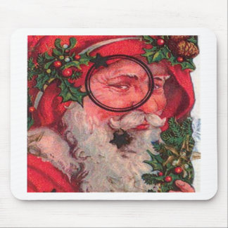 Papai noel do Natal - customizável Mouse Pads