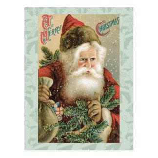 Papai noel - Feliz Natal Cartão Postal