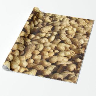 Papel de embrulho - pilha dos amendoins