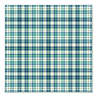 Papel de fundo azul e verde da xadrez convite