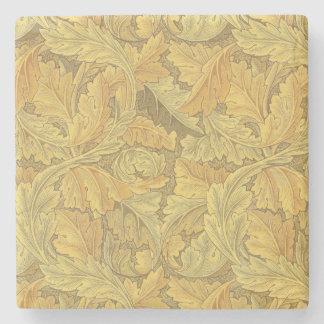 Papel de parede do Acanthus de William Morris Porta-copos De Pedra