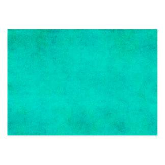 Papel de pergaminho roxo da aguarela do verde azul cartão de visita grande