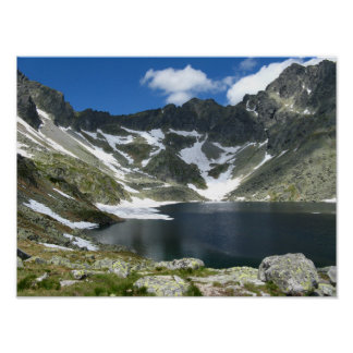 Papel de poster alto do valor de Tatras Slovakia