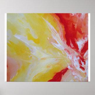 Papel de poster da arte abstracta