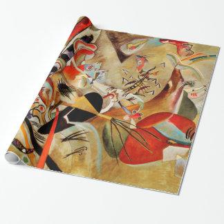 Papel De Presente Abstrato da composição de Kandinsky