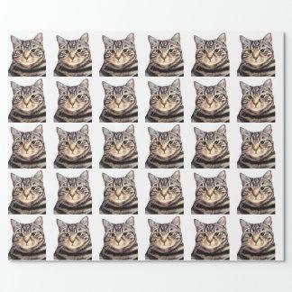 Papel De Presente Austin o gato de Bengal