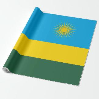 Papel De Presente Bandeira de Rwanda