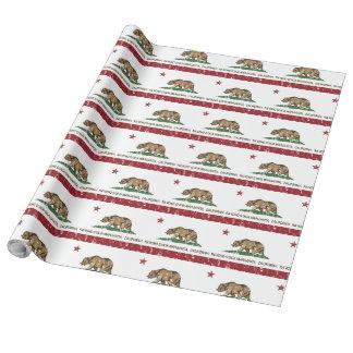 Papel De Presente Bandeira Rancho Santa Margarita do estado de