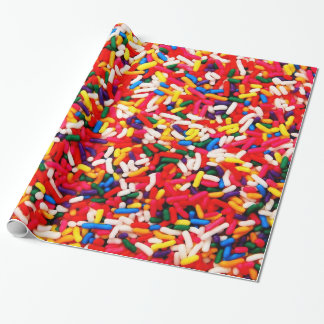 Papel De Presente Colorido polvilha