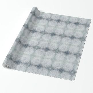 Papel De Presente Design cinzento bonito da geada