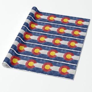 Papel De Presente Engrenagem de Colorado