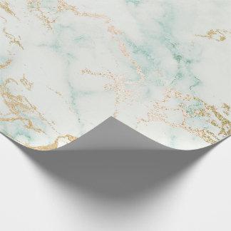 Papel De Presente Escovas de mármore cinzentas brancas da pedra do