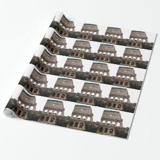 Papel De Presente Foto italiana do viagem de Colosseum