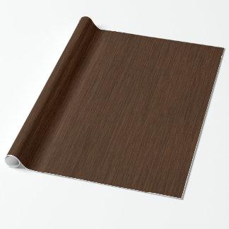 Papel De Presente Fundo de madeira granulado rústico escuro