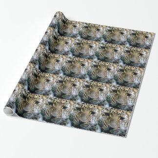 Papel De Presente Leopardo de Amur