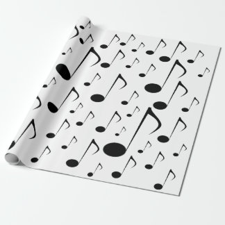 Papel De Presente Muitas notas da música