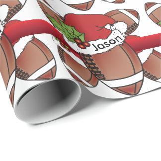 Papel De Presente Nome original do Natal | DIY do futebol