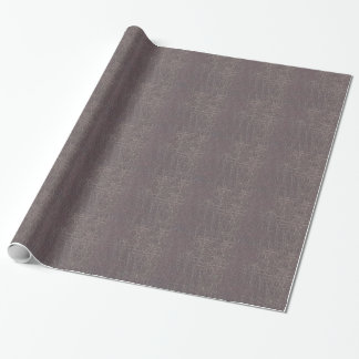 Papel De Presente o modelo de prata cinzento de couro da textura diy