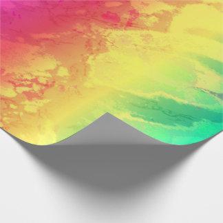 Papel De Presente Olhar bonito da textura do mármore do arco-íris