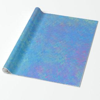 Papel De Presente Olhar bonito do papel marmoreado do azul