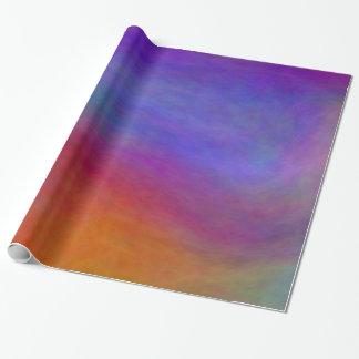 Papel De Presente Papel de envolvimento azul das nuvens do plasma
