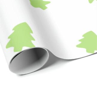 Papel De Presente Papel de envolvimento da árvore de Natal