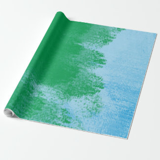 Papel De Presente Papel de envolvimento da escova de pintura