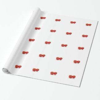 Papel De Presente Papel de envolvimento lustroso dos tomates