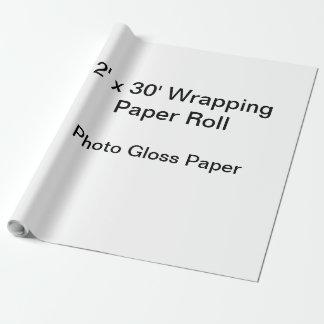 Papel De Presente Papel de envolvimento (rolo 2x30, papel do brilho