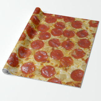 Papel De Presente Pizza de Pepperoni