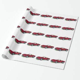 Papel De Presente Roadster do raio de 69 Corvetas Sting