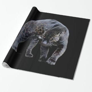 Papel De Presente Rolo do papel de envolvimento de Jaguar Diablo