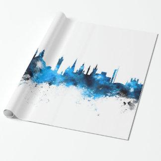 Papel De Presente Skyline de Glasgow Scotland