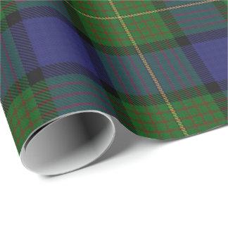 Papel De Presente Tartan do Scottish de Muir do clã