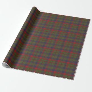 Papel De Presente Tartan escocês original de Glasgow