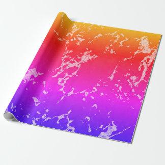 Papel De Presente Textura de pedra de mármore colorida
