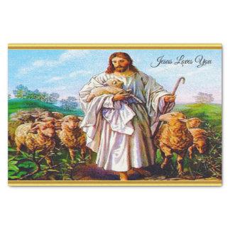 Papel De Seda 10:7 de John - 21 eu sou o bom pastor