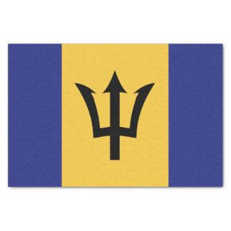 Papel De Seda Bandeira de Barbados